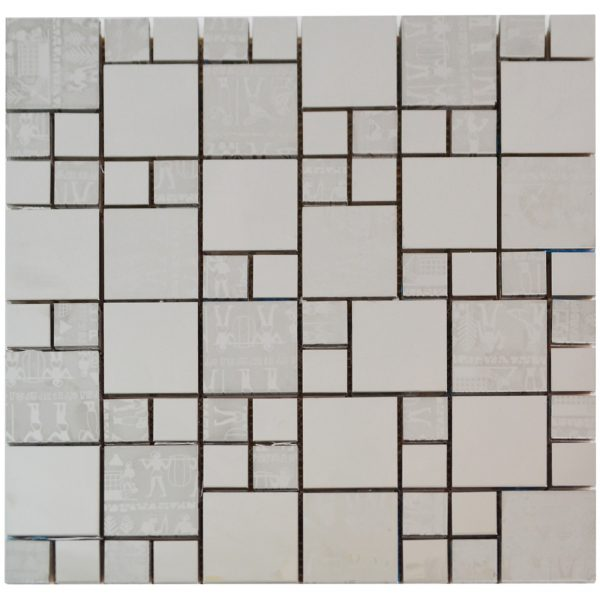 Egyptian Steel Stainless Steel Backsplash Kitchen Mosaic - MnM Stone