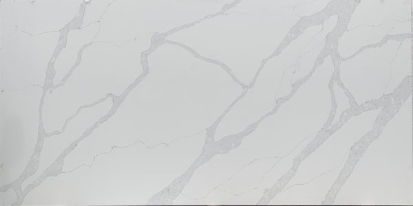 Grey Calacatta Quartz Worktop Slab