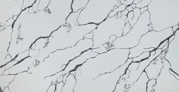 Calacatta Charcoal Quartz Worktop Slab